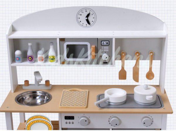 Детская Кухня «White & Grey»
