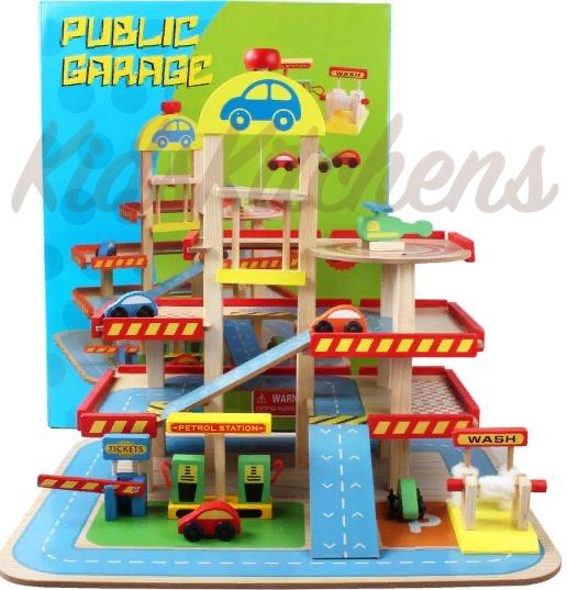 Детская парковка для машинок «АвтоСити»