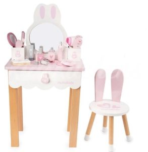 Детский туалетный столик для девочки «Зайка»
