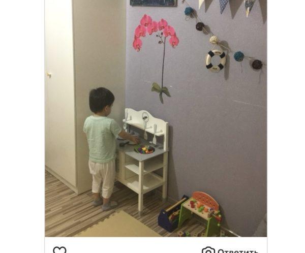 Детская кухня «White coocking time» отзыв