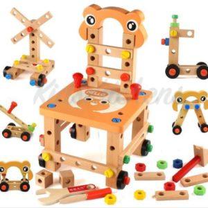Деревянный конструктор – «Трансформер Стул»