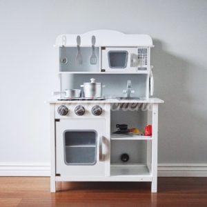 Детская деревянная кухня «Classic white»