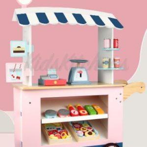 Детская игрушка Магазинчик на колесах