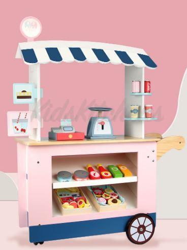 Детская игрушка – «Магазинчик на колесах»