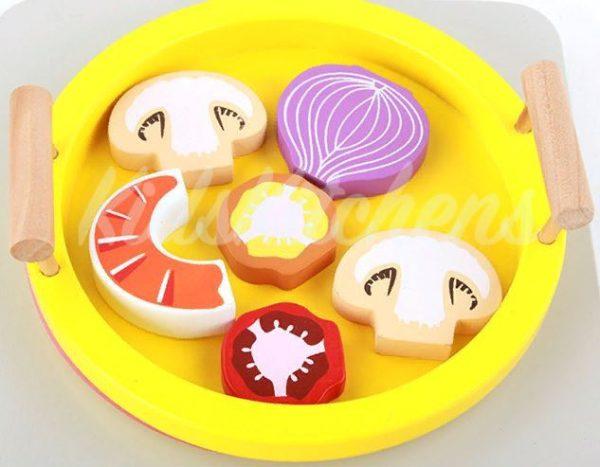 Детская игрушка – набор «Вкусные морепродукты»