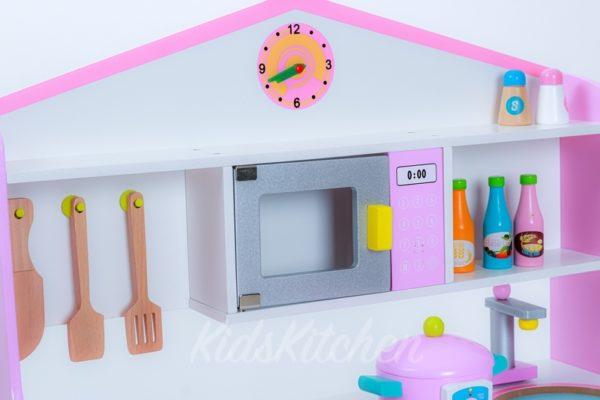 Детская кухня «Розовый домик»